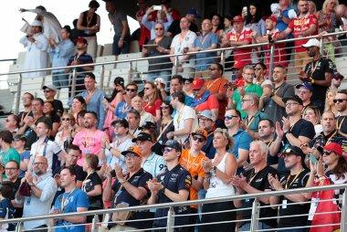 Fans tijdens de GP van Abu Dhabi