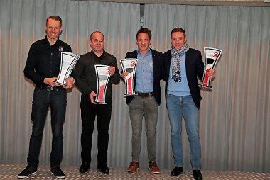 Jeffrey Van Hooydonck, François Bouillon, Frédéric Vervisch en David Houthoofd