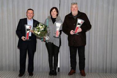 Robert Vaessen, Petra Carlier en André Carlier