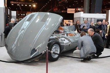 Rétromobile salon in beeld gebracht