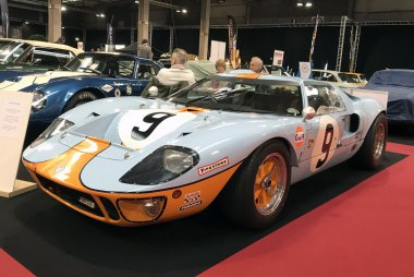 Ford GT40 - Winnaar 24h Le Mans 1968 - Rodriguez/Bianchi