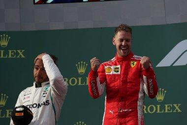 Lewis Hamilton & Sebastian Vettel
