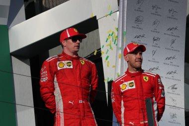 Kimi Raikkonen & Sebastian Vettel