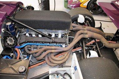 V12 Motor Jaguar XJR-9