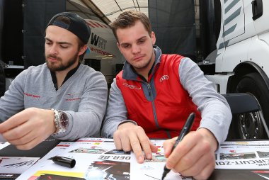 Will Stevens & Dries Vanthoor