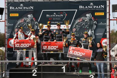 Podium Pro Cup 2018 Blancpain GT Sprint Cup Zolder Race 2