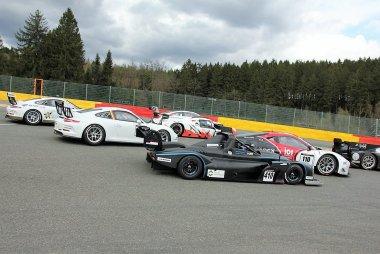 Start 2018 Supercar Challenge Spa 400