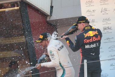 Lewis Hamilton & Max Verstappen