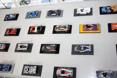 "Miniatuurwagens Autoworld Brussels: Expo ""The belgians at Le Mans"""