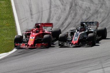 Sebastian Vettel vs. Romain Grosjean