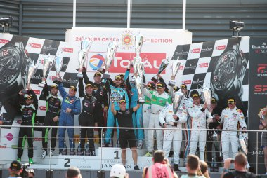 2018 Total 24 Hours of Spa Podium Am