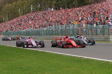 2018 F1 Grote Prijs van België