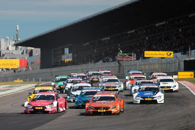 Start DTM Nürburgring Zondagrace 2018