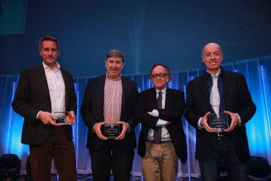 Stéphane Lémeret, Louis-Philippe Soenen, Pascal Wittmeur en Nicolas Vandierendonck