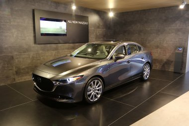 Brussels Motor Show 2019 - Mazda 3