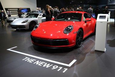 Brussels Motor Show 2019 - Porsche 911