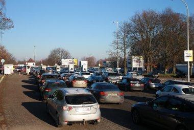 Autosalon Brussel sfeerbeeld