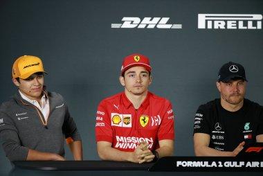 Persconferentie Bahrain F1 GP