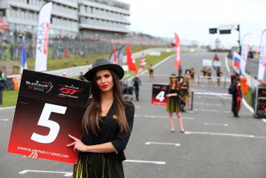 Gridgirls Blancpain GT World Challenge Europe Brands Hatch