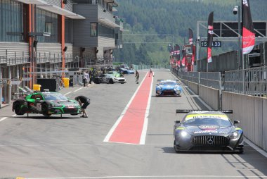 Pitlane 2019 24 Hours of Spa Test Days