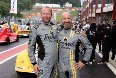 James Thompson & Claudio Capelli