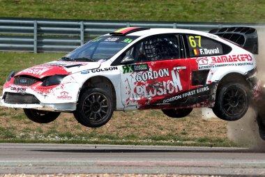 François Duval - Ford Focus Supercar
