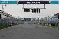 Beelden van een 25e GP F1 Melbourne in mineur