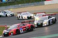De beide Audi's van WRT