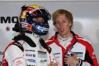 Mark Webber en Brendon Hartley
