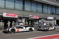 WEC race Francorchamps Team Porsche