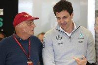Nikki Lauda & Toto Wolff - Mercedes F1 Team