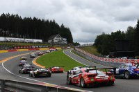 start 2016 BEC 24 Hours of Spa