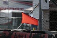 rode vlag baanpost 2016 24 Hours of Zolder