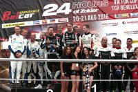 24H Zolder 2016 Overall podium