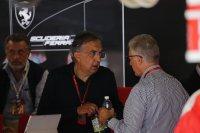 Sergio Marchionne-president Ferrari en Pierro Ferrari