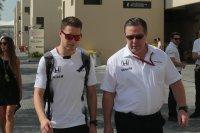 Stoffel Vandoorne & Zak Brown