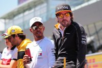Lewis Hamilton & Fernando Alonso