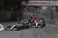 Start Grote Prijs Monaco