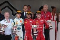 Podium sprintrace Monaco