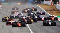 Start 2020 Formula 2 Sprint Race Spanje
