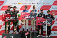 Podium World Challenge Europe Race 2 Zandvoort 2019