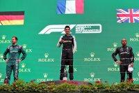 Podium GP Hongarije 2021