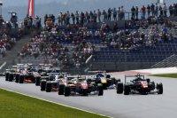 Start race 3 Red Bull Ring