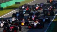 Start 2020 Formula 2 Feature Race Italië