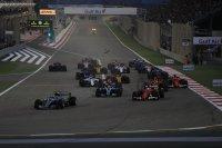Start GP van Bahrein 2017