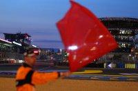 Rode vlag in Le Mans 2014
