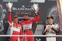 Podium Kwalificatierace Brands Hatch: Van Glabeke - Bronizewski - Ojjeh