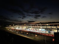 Circuit Zolder in de avond