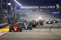 Start 2019 F1 GP van Singapore