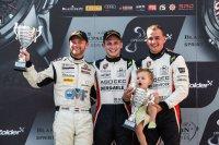 Podium Porsche GT3 Cup Challenge Benelux BSS Zolder